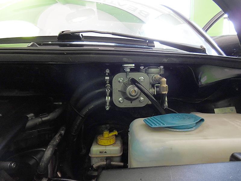 AutoGas Tuning VW New Beetle Zanardi