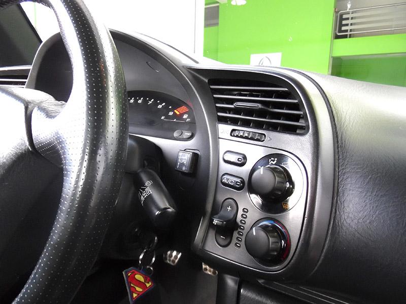 Autogas Tuning Honda S2000 Landirenzo Διακόπτης Εναλλαγής & Στάθμης Καυσίμου