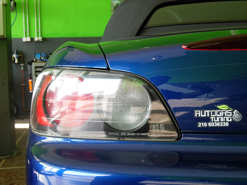 Autogas Tuning Honda S2000 Landirenzo με την υπογραφή της Autogas Tuning
