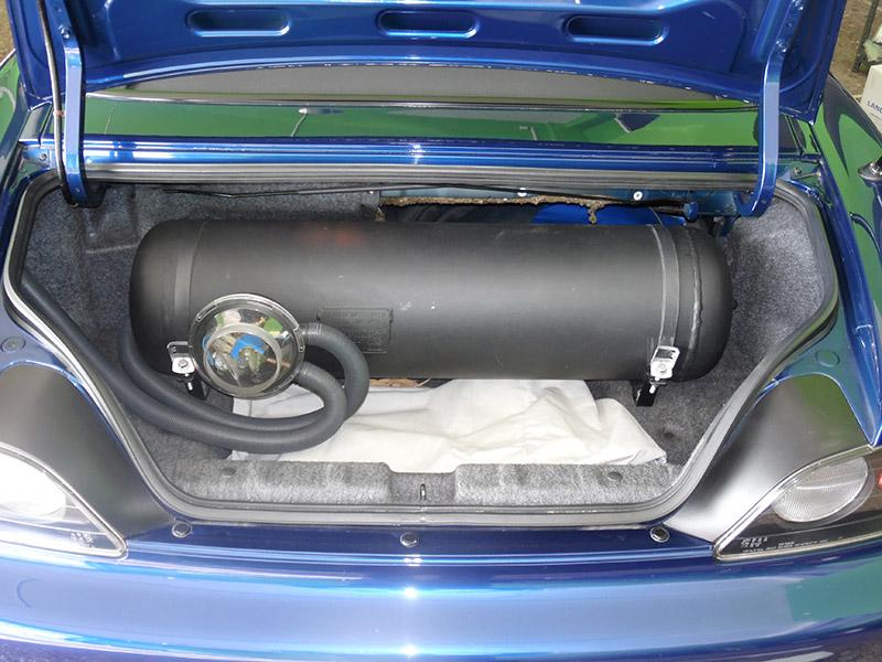 Autogas Tuning Honda S2000 Landirenzo Δεξαμενή