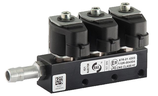 Autogas Tuning LPG Rail Injectors