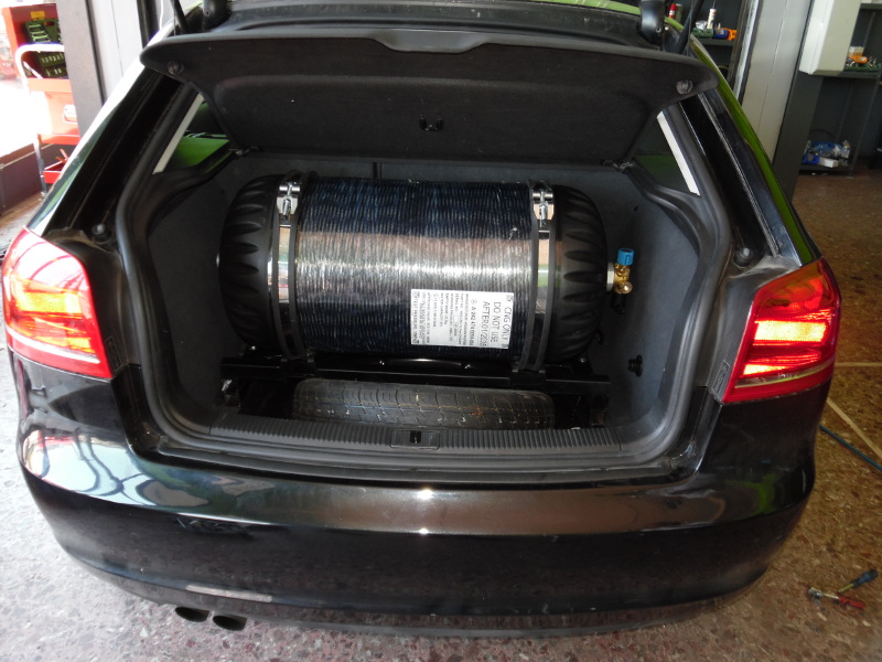 Autogas Tuning Audi A3 TFSI - CNG - ZAVOLI!