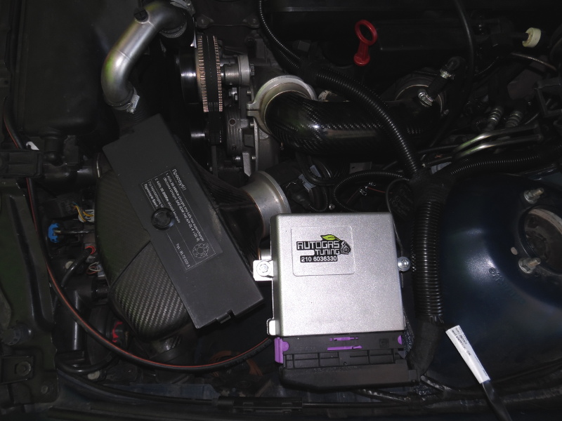 Autogas Tuning MERCEDES A170 - CNG - LOVATO!