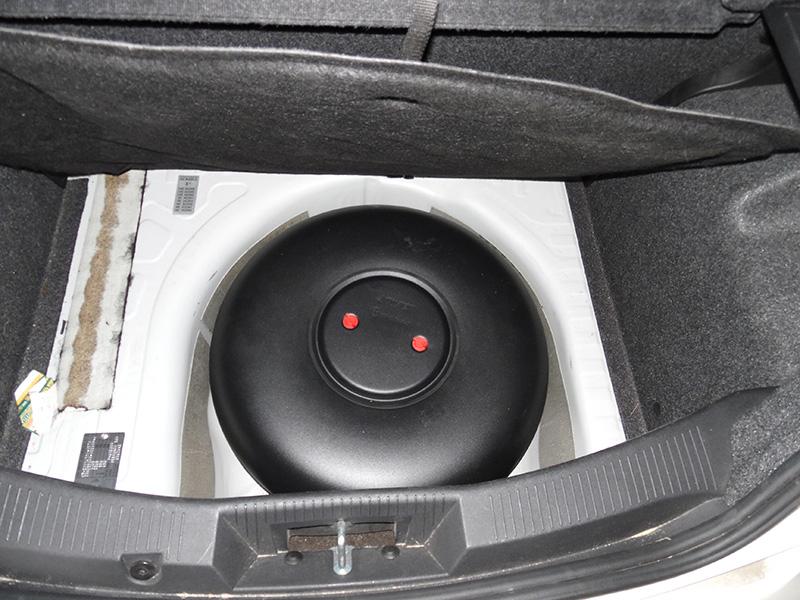 AutoGas Tuning Alfa Romeo Mito Δεξαμενή