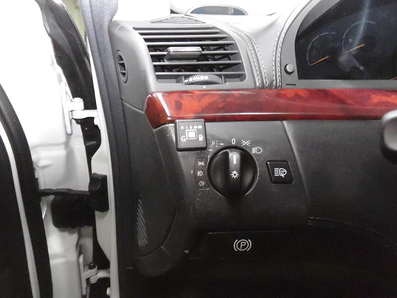 Autogas Tuning Mercedes S500 AEB & ZAVOLI Διακόπτης