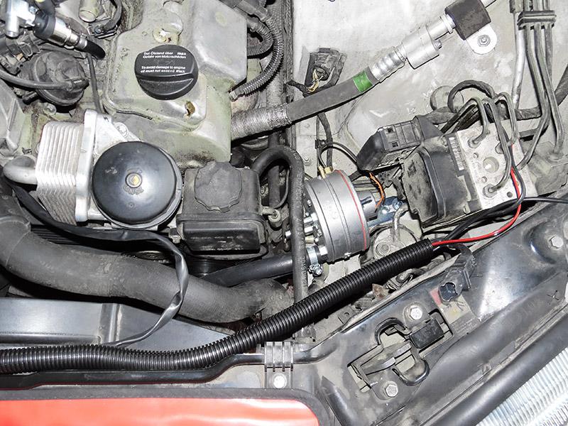 Autogas Tuning Mercedes S500 AEB & ZAVOLI Zeta S Πνεύμονας