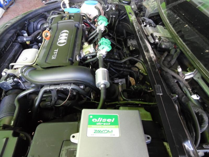 Autogas Tuning Audi A3 TFSI- CNG - ZAVOLI!