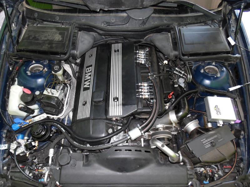 Autogas Tuning BMW Compressor 520 - CNG - AEB!