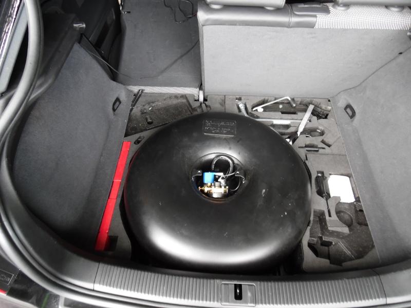 Autogas Tuning AUDI S3  με δεξαμενή στο χώρο της ρεζέρβας