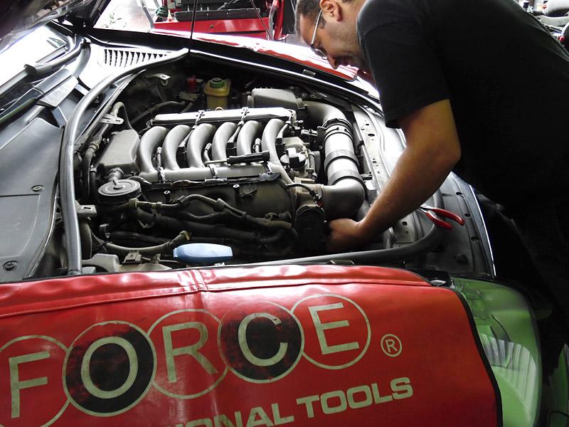 AutoGas Tuning Porsche Cayenne AEB