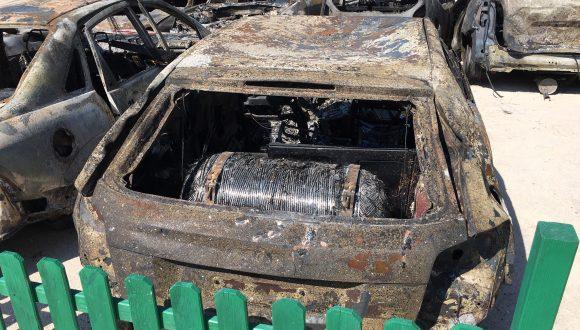 Μπορεί το καλοκαίρι του 2018 να ζήσαμε όλοι τον εφιάλτη με τη φονική πυρκαγιά στο Μάτι, αλλά όταν μιλάμε για ασφάλεια δεν βάζουμε κανένα περιορισμό! Η δεξαμενή έμεινε ανέπαφη από τη φωτιά.