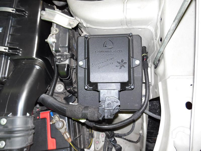 AutoGas Tuning Mitsubishi Outlander Landirenzo Evo